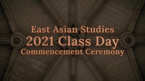 Thumbnail for entry EAS 2021 Class Day Event Recording