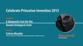 Thumbnail for entry Celebrate Princeton Invention 2015 Coleen Murphy