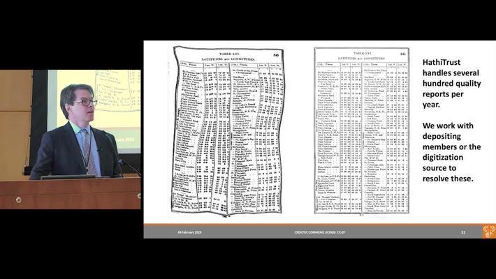 Mike Furlough (Executive Director, HathiTrust) presentation to Princeton University Library Staff - February 4, 2019
