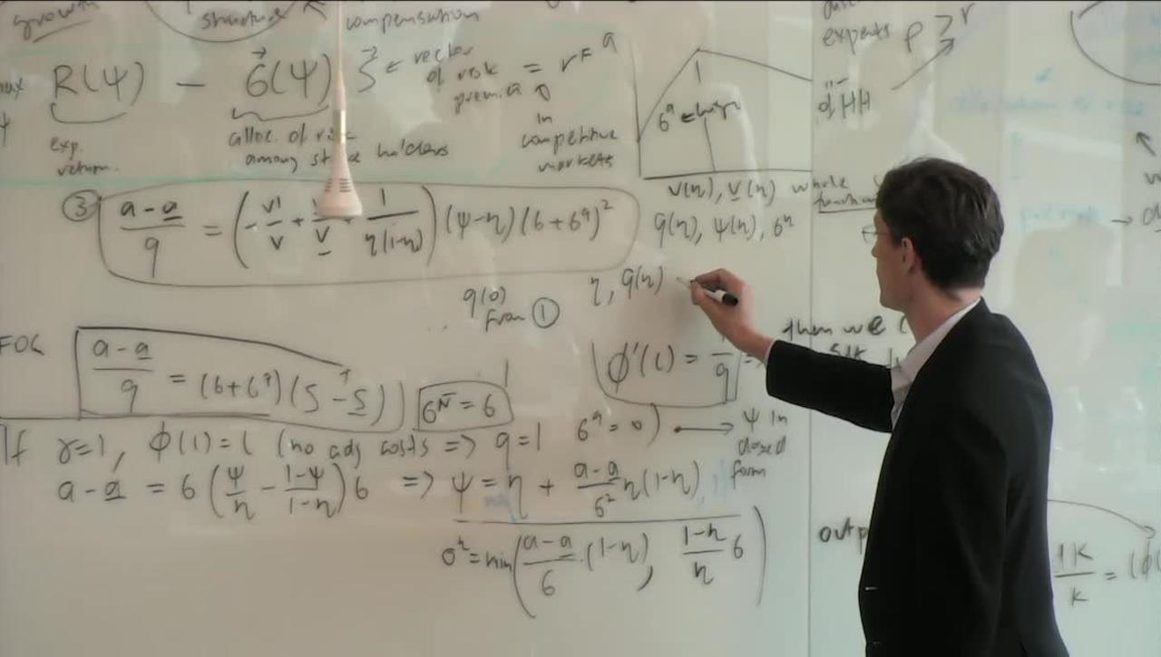 Princeton Initiative 2018 - Heterogeneous Agent Models with Financial Frictions, Part 3