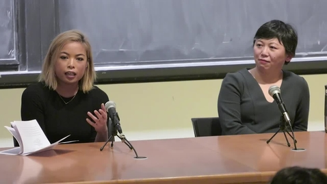 Thumbnail for entry Asian American Studies Lecture Series: Yiyun Li and Jia Tolentino - December 4, 2019