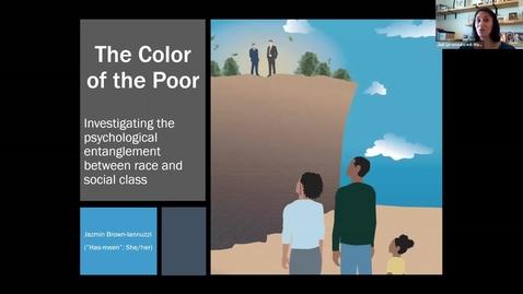 Thumbnail for entry Psychology Social Seminar 11-16-2020: Jazmin Brown Iannuzzi