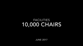 Thumbnail for entry 10,000 Chairs: Time Lapse