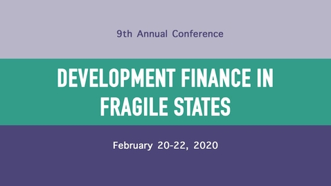 Thumbnail for entry Session 1: Macro Policy, Capital Flows and Investments - Jesse Schreger, Assistant Professor of Business, Columbia Business School