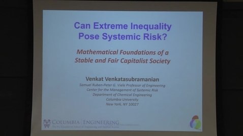 Thumbnail for entry Is Extreme Income Inequality Posing Systemic Risk? Mathematical Foundations of a Stable Capitalist Society