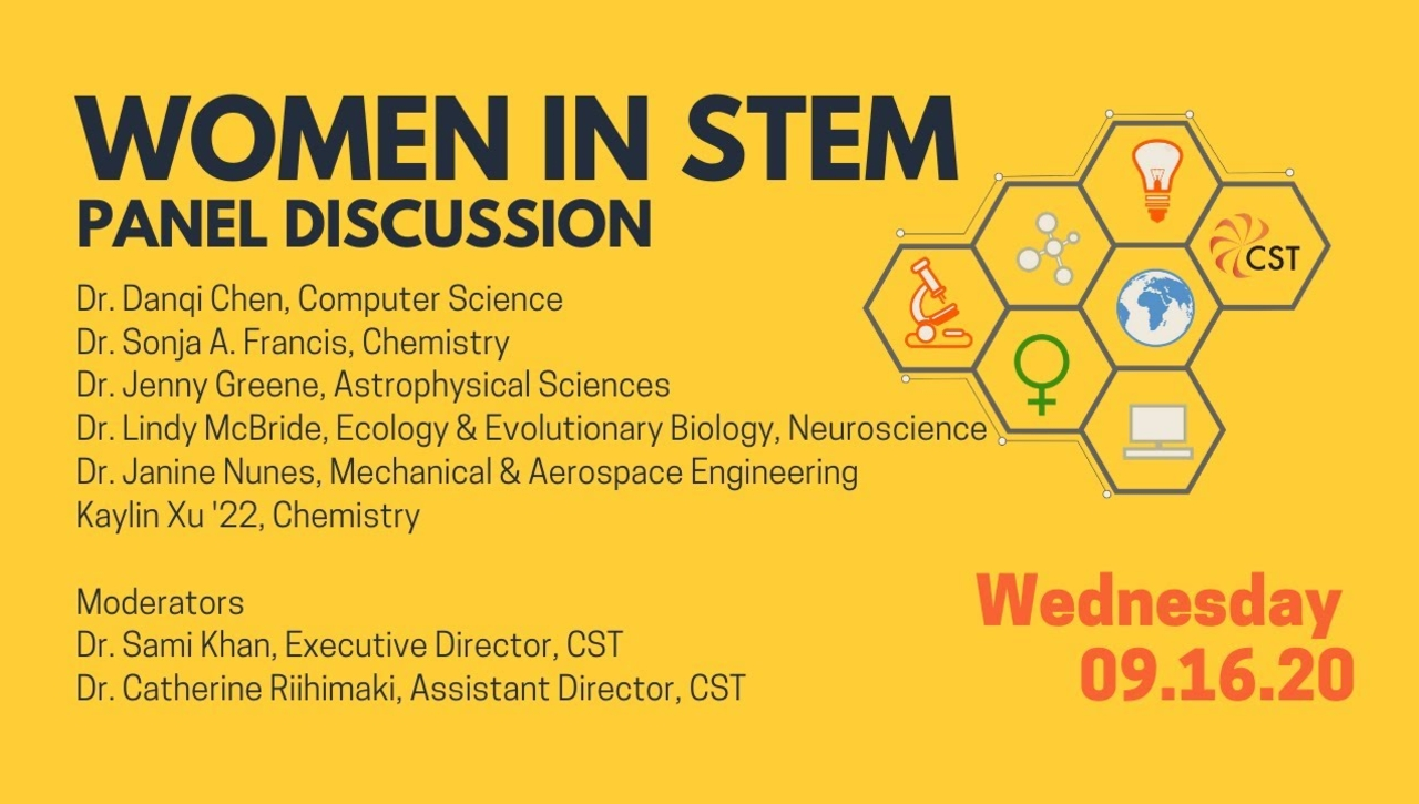 Women in STEM Panel Discussion 2020