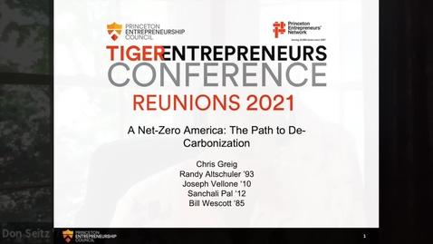 Thumbnail for entry A Net-Zero America: The Path to De-Carbonization