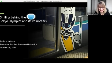 Thumbnail for entry Smiling Behind the Mask: Tokyo Olympics and Its Volunteers