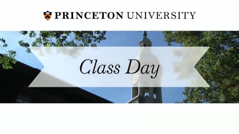 Thumbnail for entry Class Day 2014 with guest speaker Al Gore