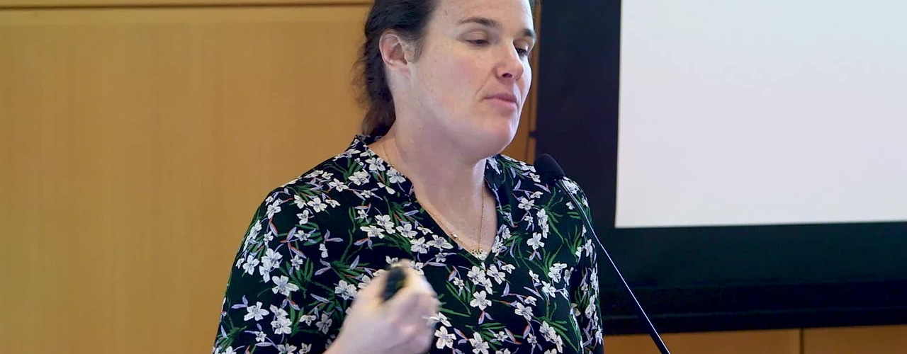 """Professor Barbara Engelhardt's research presentation on """" From available patient data to transforming hospitals: Machine learning for personalized healthcare"""""""