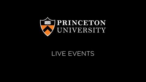 BC Tricaster - Princeton University Live Stream