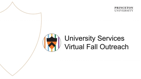 Thumbnail for entry University Services Virtual Fall Outreach