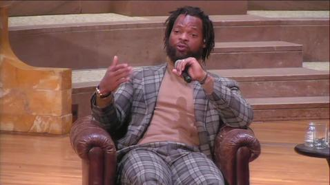 Thumbnail for entry Race and The NFL: A Conversation with Michael Bennett - March 11, 2019