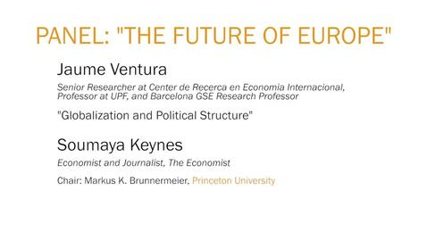 "Thumbnail for entry Panel : ""The Future of Europe"""