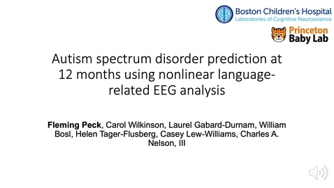 Thumbnail for entry Early-life autism spectrum disorder diagnosis with nonlinear EEG analysis using machine learning methods