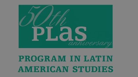 Thumbnail for entry Panel 2: PLAS Trajectories: Students and Alumni