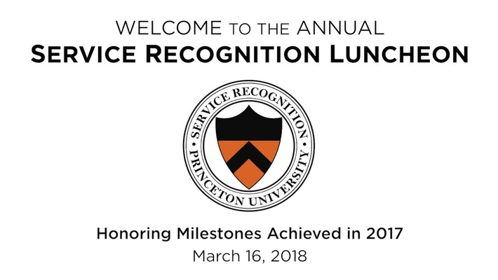 2018 Human Resources Service Recognition Luncheon