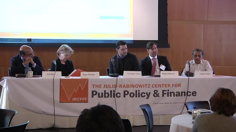 """Thumbnail for entry """"Financial Innovation in Practice: Sovereign, Mortgage and Student Debt Markets"""" - JRCPPF 5th Annual Conference"""