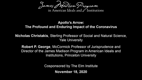 Thumbnail for entry Apollo's Arrow: The Profound and Enduring Impact of the Coronavirus