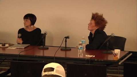 Thumbnail for entry Postmodern Procedures: Instructing/Constructing - Diana Agrest and Erin Besler Discussion