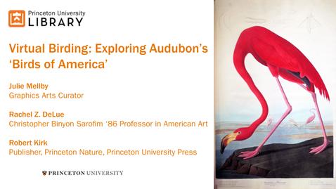 Thumbnail for entry Virtual Birding: Exploring Audubon's 'Birds of America'