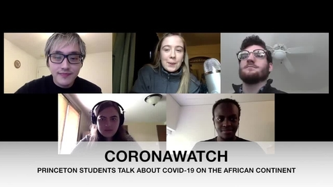 Thumbnail for entry CORONAWATCH PODCAST