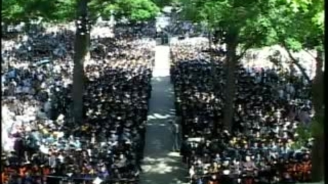 Thumbnail for entry Princeton University's 261st Commencement