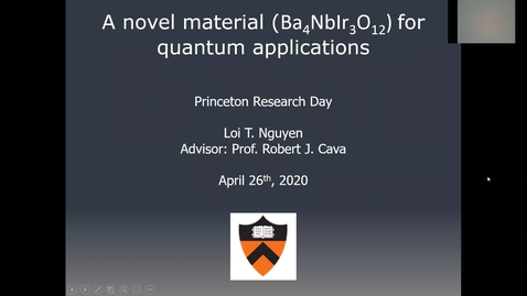 Thumbnail for entry A new quantum spin liquid candidate for storage applications