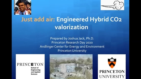 Thumbnail for entry Reinventing the carbon economy: Engineered Hybrid CO2 valorization