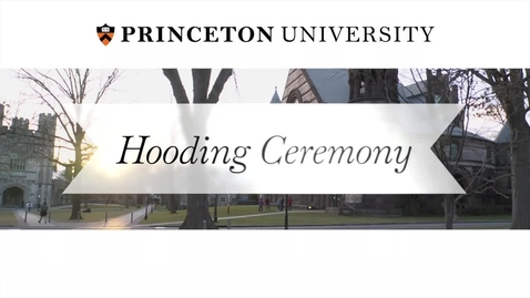Thumbnail for entry Hooding Ceremony 2015