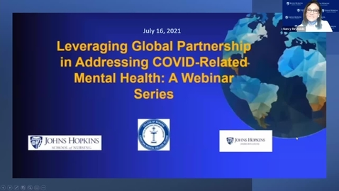 Thumbnail for entry Caregiver's Burden and How to Help Caregivers During COVID-19 Pandemic - Vinciya Pandian.mp4