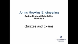 Thumbnail for entry Orientation Module 4 - Quizzes and Exams.mp4