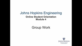 Thumbnail for entry Orientation Module 4 - Group Work.mp4
