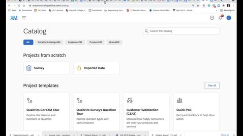 Thumbnail for entry Qualtrics Basics