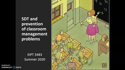 Thumbnail for entry Video Lecture Series#23 SDT and prevention of problems-1 - Quiz