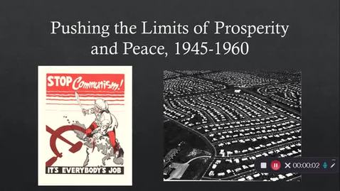 Thumbnail for entry Topic 13 - 1950s