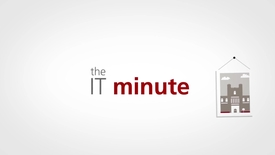 Thumbnail for entry The IT Minute - Binder App