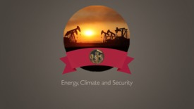 Thumbnail for entry Presidential Dream Course - Energy, Climate & Security, Dr. Kong