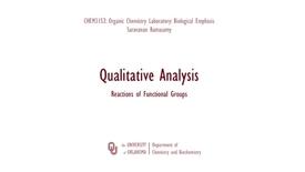 Thumbnail for entry Qualitative Analysis Lab