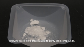 Thumbnail for entry Recrystallization - Organic Chemistry Lab Technique