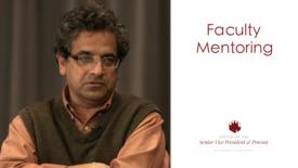 Thumbnail for entry Faculty Mentoring - Shivakumarm Raman