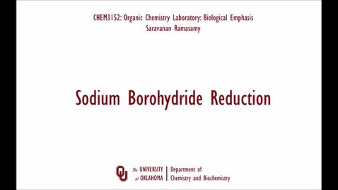 Thumbnail for entry Sodium Borohydride Reduction
