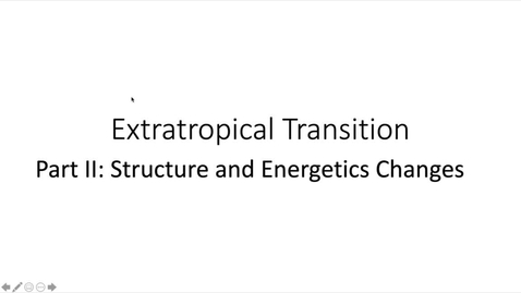 Thumbnail for entry  Guest Lecture: Extratropical Transition of TC (Part 2)