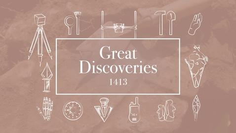 Thumbnail for entry Great Discoveries 1413, Module 1, Sarah Trabert