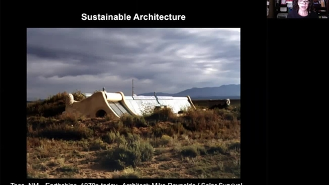 Thumbnail for entry Sustainable Architecture I