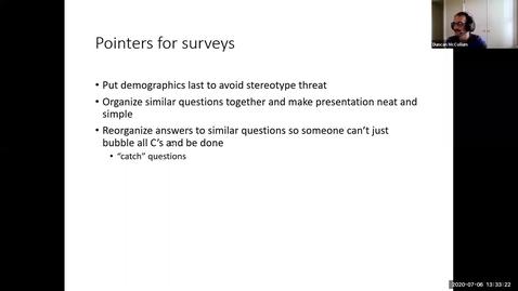Thumbnail for entry Surveys