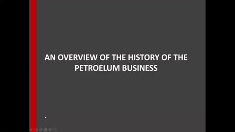 Thumbnail for entry Petroleum business overview