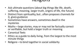 Thumbnail for entry Intro to World Religion pt3