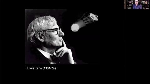 Thumbnail for entry 15. Louis Kahn