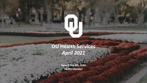 Thumbnail for entry OU Health Services + UCC